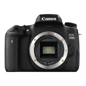佳能(Canon)EOS 760D单反机身 不含镜头 黑色