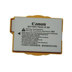 佳能(Canon) LP-E8 相机电池 佳能E8 原装扣机电 各种版本随机发货 LP-E8原装电池